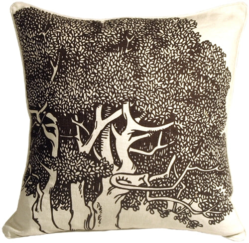 Thomas Paul Chestnut Java 22x22 Throw Pillow