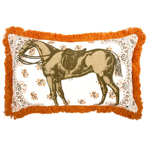 Thomas Paul Horse 12x20 Throw Pillow