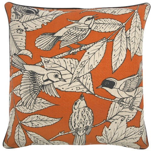 Thomas Paul Chirp 22x22 Throw Pillow