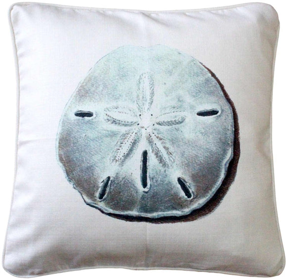 Ponte Vedra Sand Dollar Throw Pillow 20x20