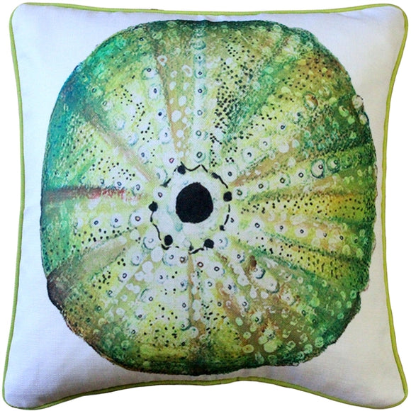 Big Island Sea Urchin Solitaire Throw Pillow 20x20