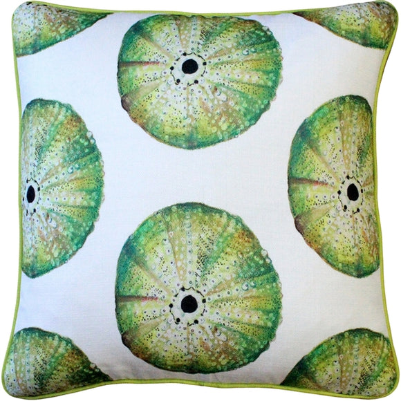 Big Island Sea Urchin Large Scale Print Throw Pillow 20x20