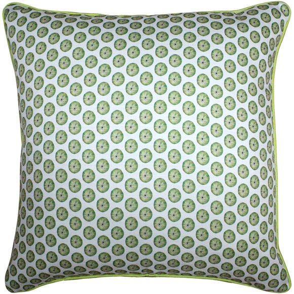 Big Island Sea Urchin Tiny Scale Print Throw Pillow 26x26