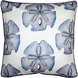 Big Island Sand Dollar Large Scale Print Throw Pillow 20x20