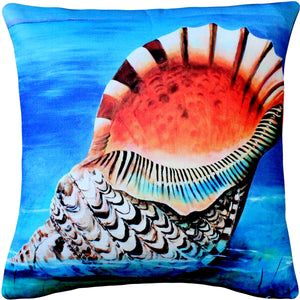 Maui Great Triton Throw Pillow 20x20