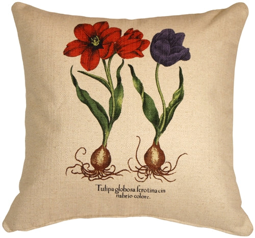 Tulips 20x20 Decorative Throw Pillow