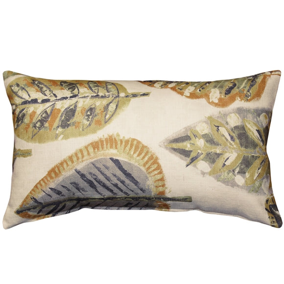 Autumn Leaves Throw Pillow 12x20