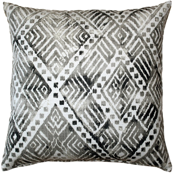 Tangga Gray Throw Pillow 20X20