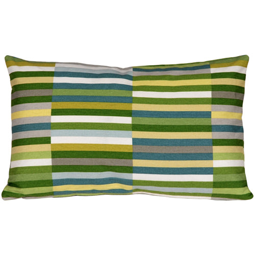 Waverly Side Step Marine 12x20 Throw Pillow