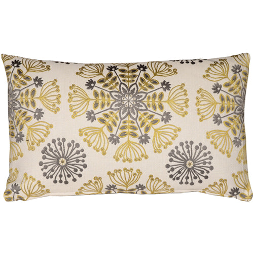 Waverly Kaleidoscope Sterling 12x20 Throw Pillow