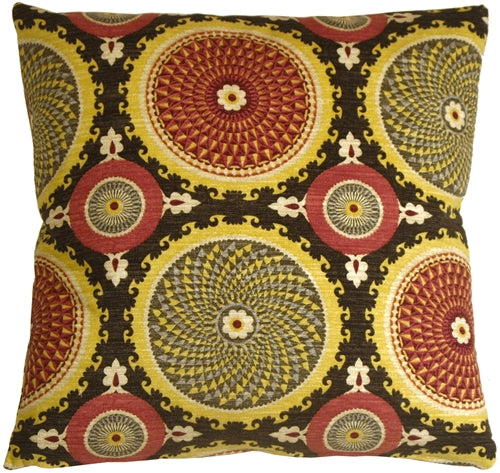 Bohemian Medallion Fiesta 20x20 Throw Pillow