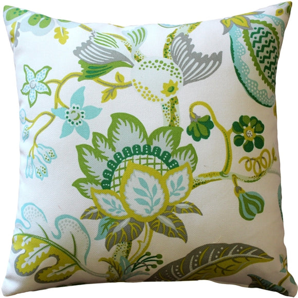 St. Thomas Lime Outdoor Throw Pillow 20x20