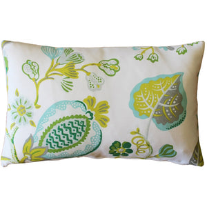 St. Thomas Lime Outdoor Throw Pillow12x20