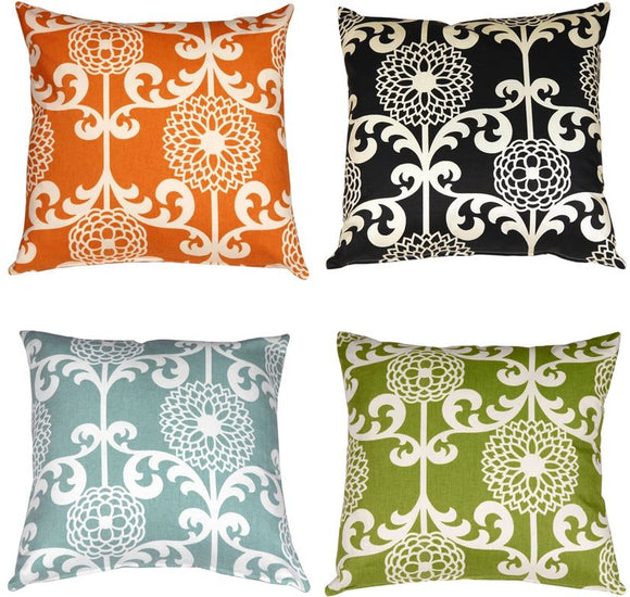 Waverly Fun Floret 20x20 Throw Pillow