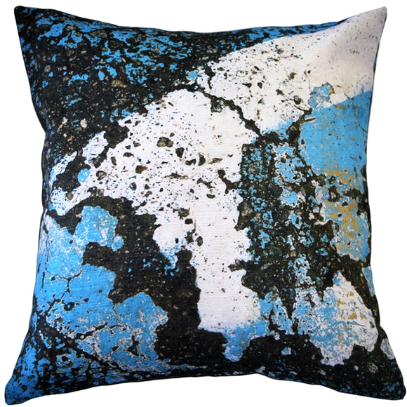 Amalfi Sea Throw Pillow 19x19