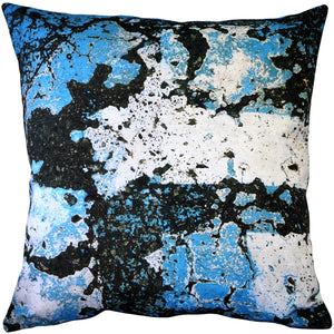 Aegean Sea Throw Pillow 19x19