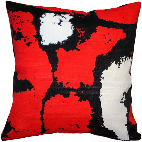 Metropolis Madrid Throw Pillow 19x19