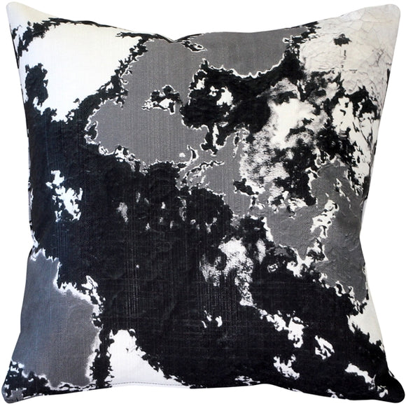 Lava Steps Throw Pillow 19x19