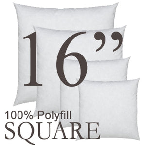 Square Polyfill  Pillow Insert