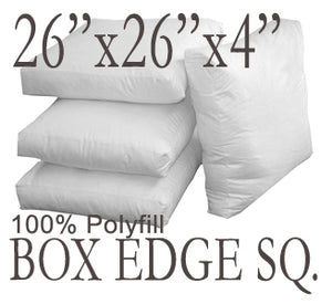 Box Edge Polyfill Pillow Insert