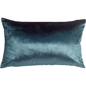 Milano 12x20 Teal Blue Decorative Pillow