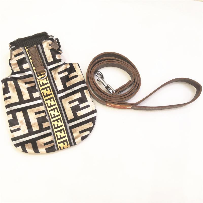 Fendi Pup Vest & Leash Special Edition Collab Set