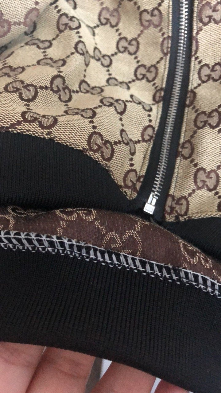 Gucci Kakhi Swag Drippy Jacket (HOT ITEM!!!)