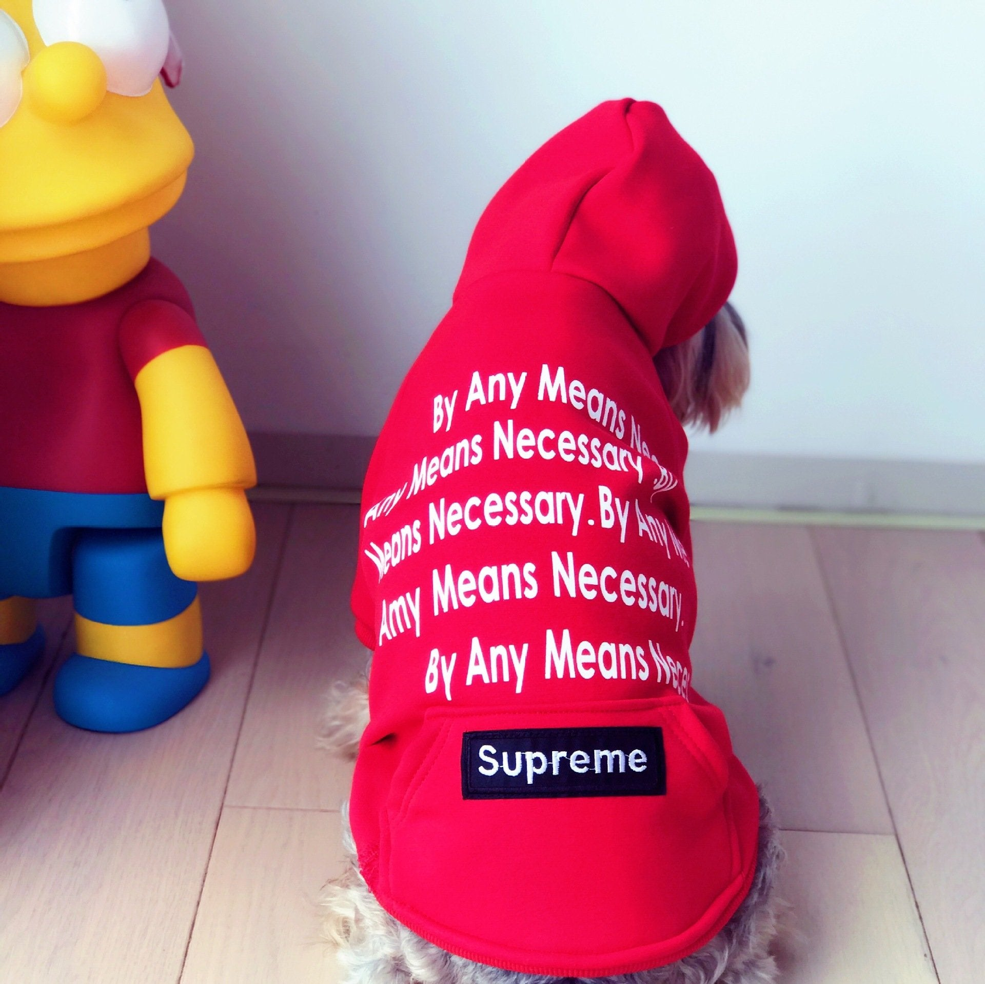Pupreme Any means Necessary Hoodie (HOT ITEM!)