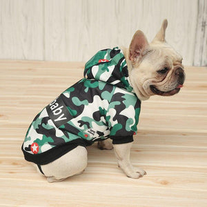 Dogbaby Camo Rain proof Jacket (SUPER SWAGGY)