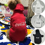 Coca Cola Monogram Classic Dog Hoodie (Multiple Colors)