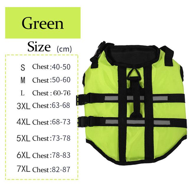 Swaggy Safety Life Jacket for Big Dogs Waterproof