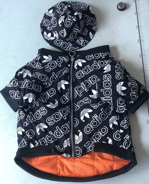 Adidas Down Hot black Jacket (LIMITED EDITION)