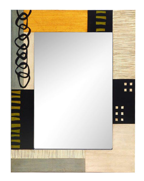 "Rectangular Wall Mirror -  Series 101/99  Argolas -  24"" x 31½ ""x ¾ """