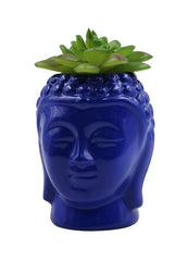 Ceramic Planter - Small  Buddha-head