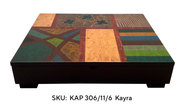 Kayra Box KAP 306-6 - Six Interior Compartments