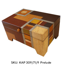 Prelude   jewelry Chests -KAP 309/71-9 - Nine Interior Compartments