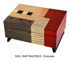 Colorado Box KAP 314/102-3 0 Three  Interior Compartments