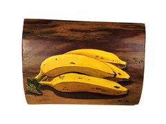 Wooden Painted - Bananas