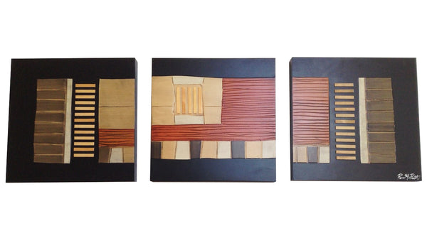 Triptych  Palmares  Wall Art