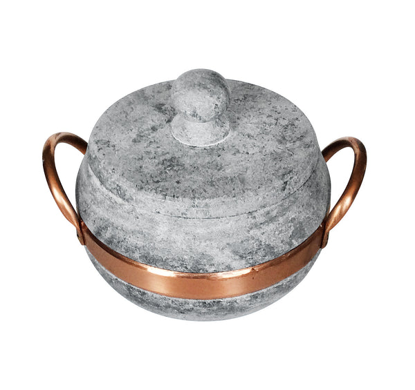 Soapstone Cookware  Pots with Soapstone Lid