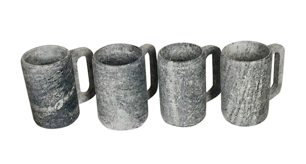 Soapstone Coffee Mugs   SET/4 - VLS071  - Set/2 - VLS071/2