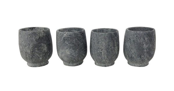 Soapstone Shot Glass   SET/4   VLS-017