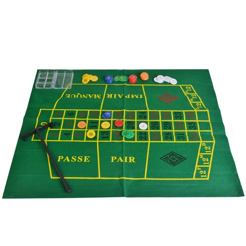 Tapis mini roulette casino