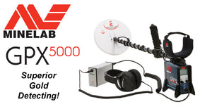Minelab GPX5000 Superior gold detecting