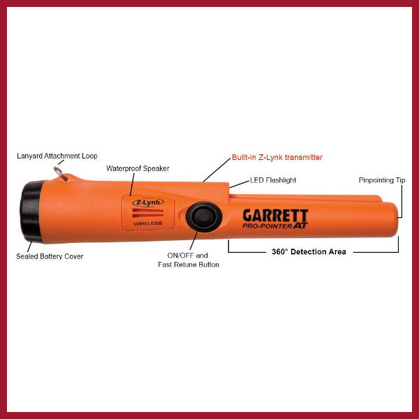 Pro-Pointer AT Garrett waterproof Z Link