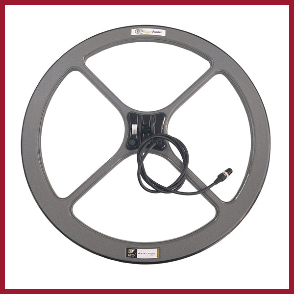"Nuggetfinder 25"" Evolution Mono Coil"
