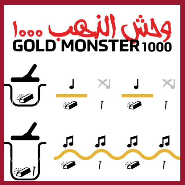 GOLD MONSTER 1000