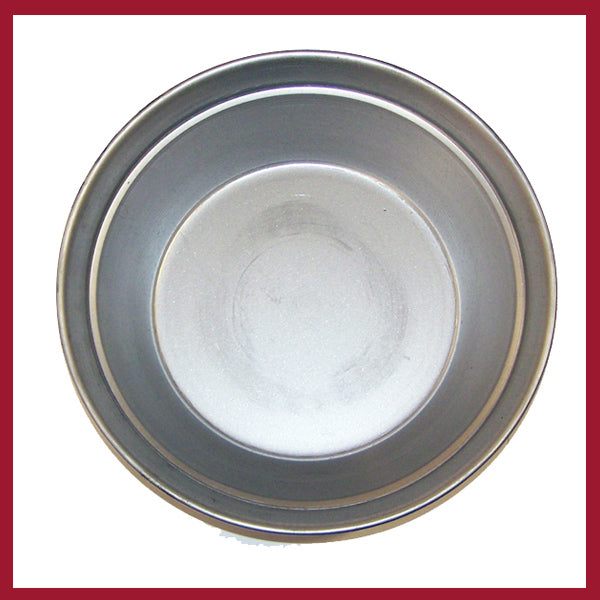 Gold Pan - Spun Steel 9""
