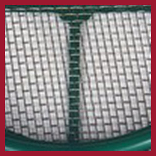 Sieve – Keene green stackable  2 mesh