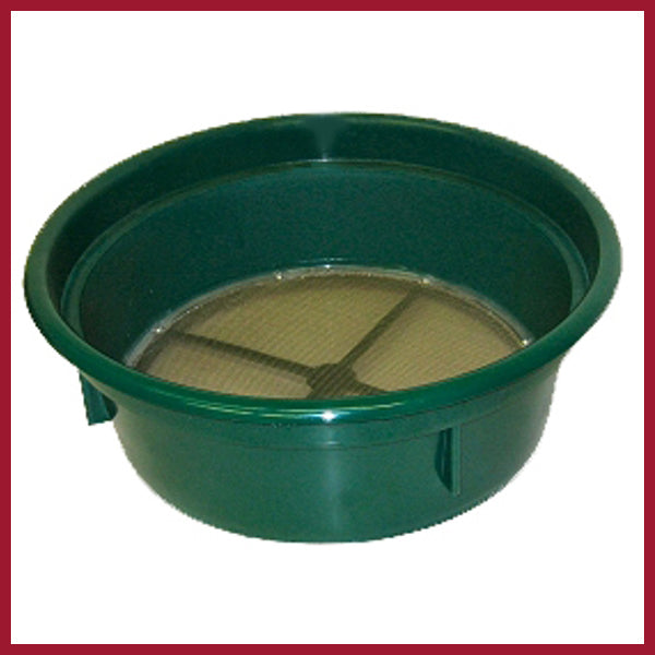 Sieve - Keene green stackable 8 mesh